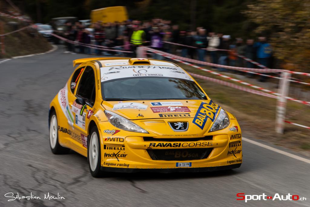 1er : Hotz Gregoire - Ravasi Pietro (Peugeot 207 S2000)