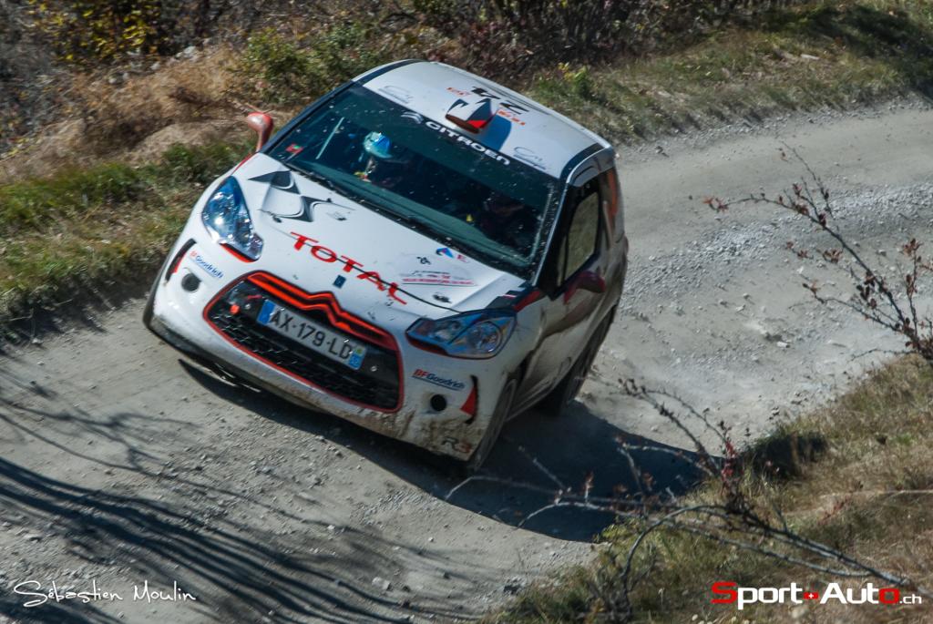 3e : Neuville Thierry - Klinger Nicolas (Citroën DS3 R3T)