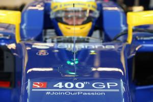 400e GP pour l'écurie suisse Sauber
