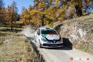 Michaël Burri - Anderson Levratti remportent le Clio R3T Alps Trophy