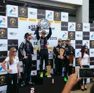 Lamborghini Super Trofeo - Patric Niederhauser remporte la finale mondiale