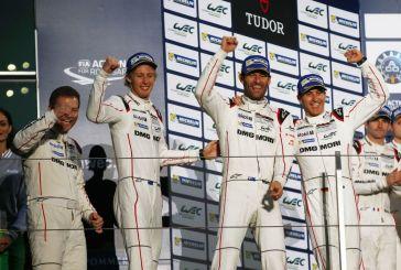 Porsche wins the drivers' world championship title