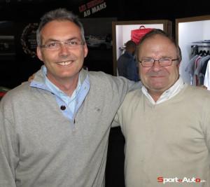 Sébastien Moulin et Charly Croset