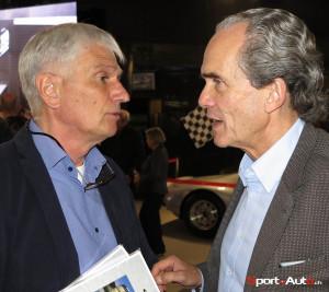 Jean-Marie Wyder et Max Welti