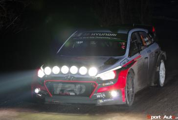 New Generation i20 WRC kicks off 2016 WRC season with a podium finish at Rallye Monte-Carlo