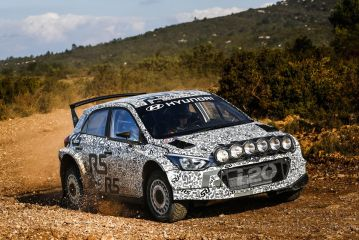 Hyundai Motorsport's Customer Project picks up pace as R5 testing begins