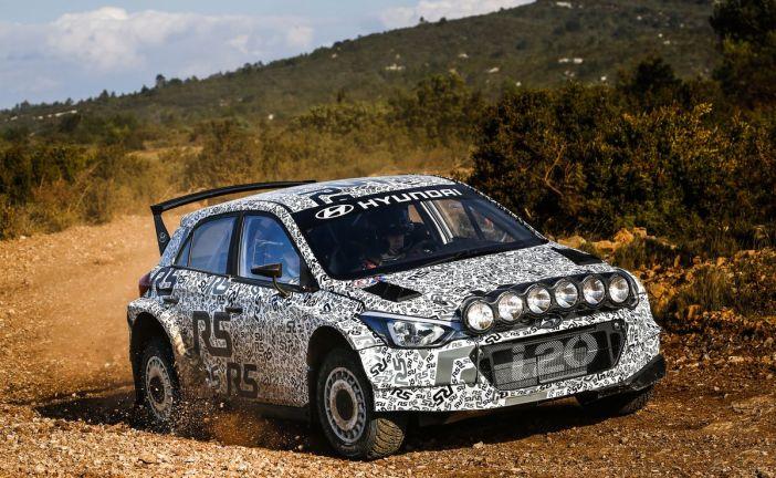 Hyundai i20 R5: neues Kundensport-Rallyeprojekt nimmt Fahrt auf