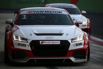 Yves Meyer und Philip Ellis in Audi Sport TT Cup