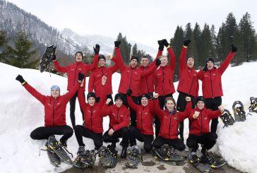 Talente aus dem Audi Sport TT Cup meistern schweißtreibendes Fitnesscamp
