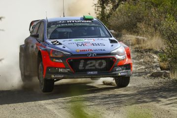 Hyundai Motorsport penalised at Rally Mexico