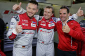 Pole position for Audi in Silverstone