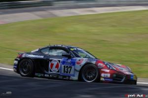 Ivan Jacoma – Porsche Cayman S – Team Mathol : 34ème au général, 2ème en V6