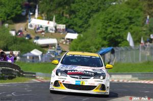 Roger Vögeli – Opel Astra OPC Cup – Lubner Motorsport : 41ème au général, 2ème en Cup1