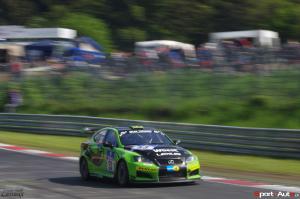 Christoph Wüest, Manuel Amweg, Marc-Remo Kündig – Lexus ISF CCS-R – Ring Racing : 64ème au général, 4ème en SP8