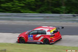 Fabian Danz – VW Golf GTI TCR – Racing One: 93ème au général, 2ème en TCR