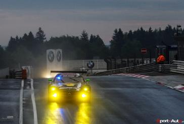 24h Nürbugring – H+6 les Mercedes surnagent en ce début de course
