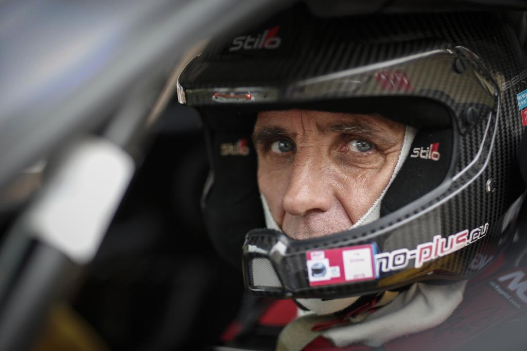 François Delecour au départ du Rallye du Chablais - liste des engagés à jour