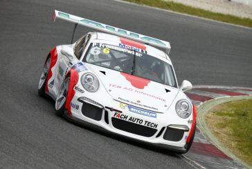 Saisonauftakt für Philipp Frommenwiler im Porsche Mobil 1 Supercup