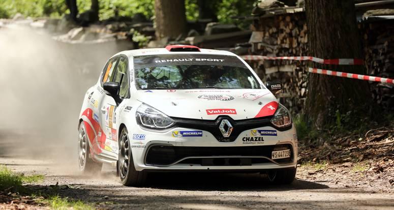 Clio R3T Alps Trophy : nouvelle victoire d'Althaus au Rallye du Chablais !