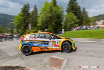 Rallye du Chablais première étape : Carron en leader à Aigle