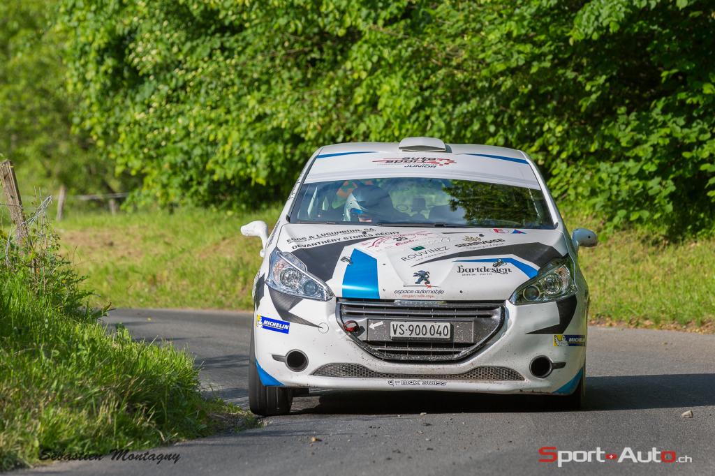 Championnat Suisse Rallye Junior : Devanthéry double la mise !