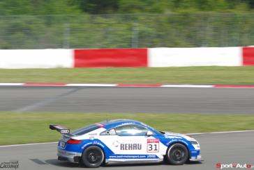 Marschall und van der Linde triumphieren im Audi Sport TT Cup auf dem Nürburgring