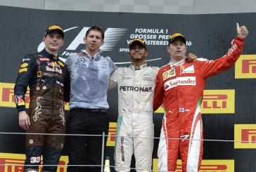 F1- GP Autriche : Hamilton l'emporte au terme d'un dernier tour de folie