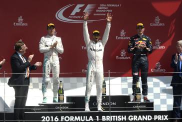 F1- GP de Grande-Bretagne : Hamilton s'impose. Pas de point pour les Suisses.