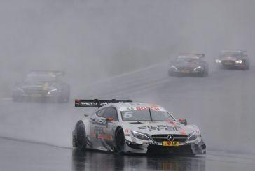 DTM – Mercedes triomphe sous la pluie russe