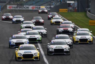 Perfektes Wochenende für Dennis Marschall im Audi Sport TT Cup
