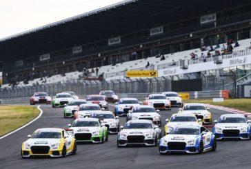 Joonas Lappalainen feiert Doppelsieg im Audi Sport TT Cup auf dem Nürburgring