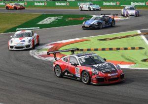 Jeffrey Schmidt (CH)  Porsche Mobil 1 Supercup Monza 2016