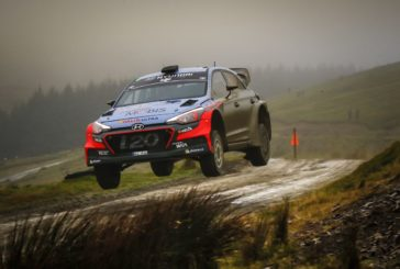 Hyundai Motorsport grabs provisional podium after tough start at Wales Rally GB