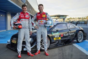Duval and Rast in Audi RS 5 DTM in 2017