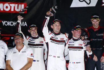 Podium for 911 GT3 R at season finale