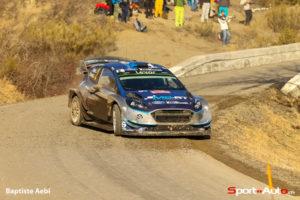 Ott Tanak (Ford) - Belle 3e place malgré les ennuis mécaniques