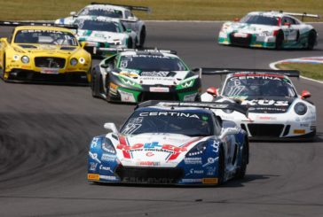 Callaway Competition in the hunt for titles in ADAC GT Masters