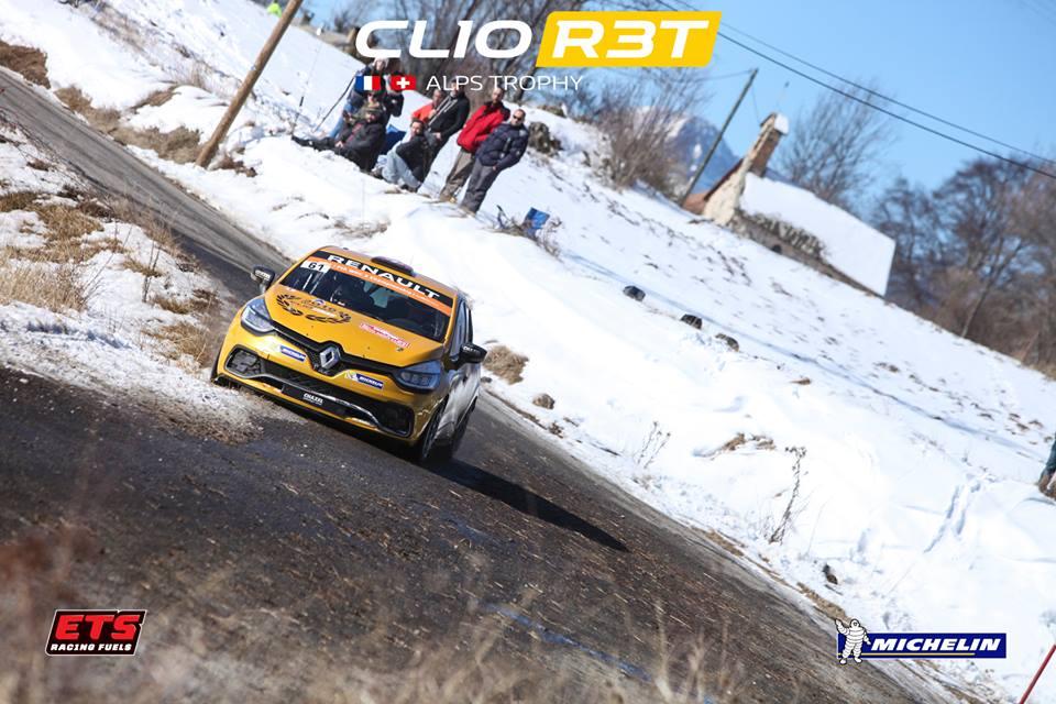 Cinq engagés, dont Florian Gonon, en Clio R3T Alps Trophy !