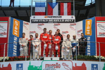 12h Mugello – Giorgio Maggi on the podium, Hofor Racing won the A6 Am class
