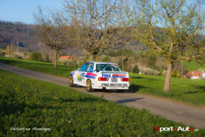 Criterium Jurassien 2017 - Eddy Berard - Florence Berard - BMW M3 - photo Sebastien Montagny