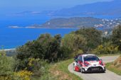 Consistency is key for Latvala on first full day of Corsica
