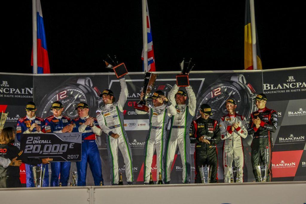 Blancpain GT Series - Nico Müller sur le podium des 1000km du Paul-Ricard