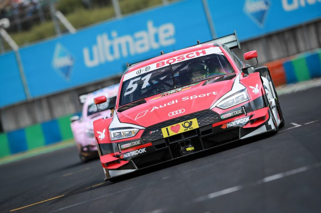 DTM – Nico Müller au pied du podium en Hongrie