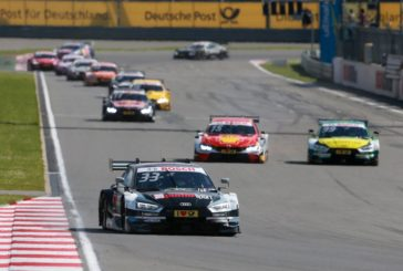 "DTM –  Rast in front of ""Rocky"": Audi with one-two win in Moscow"