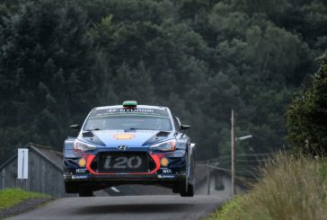WRC – Hyundai Motorsport concludes challenging weekend with Power Stage win