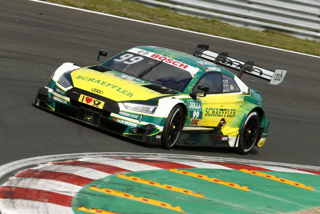 DTM - Mike Rockenfeller s'impose sur tapis vert, Nico Müller au pied du podium