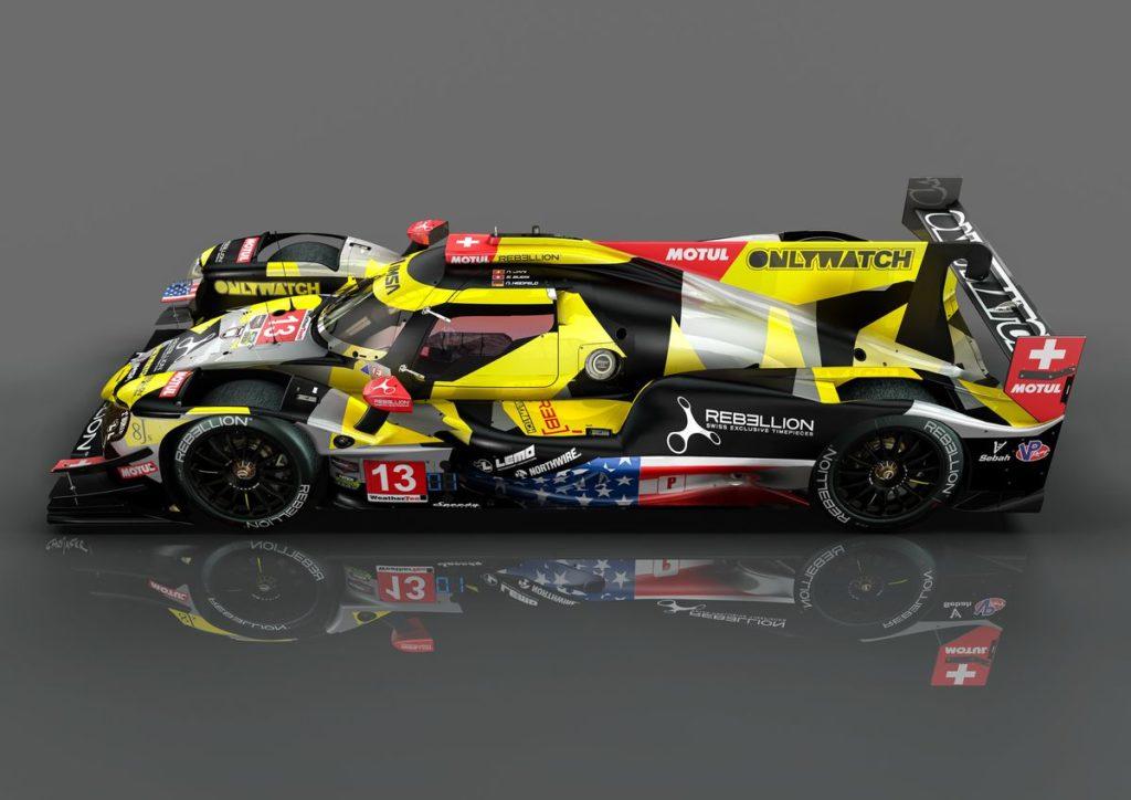Rebellion Racing au départ du Petit Le Mans avec un équipage inédit !