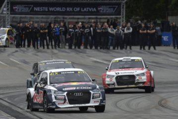 WRX – Ekström gewinnt nächsten Pokal mit Audi und EKS, Nico Müller im Finale