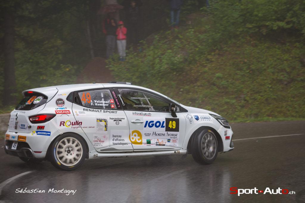 Rallye Mont-Blanc - Clio R3T Alps Trophy : mauvaise opération pour Ismaël Vuistiner