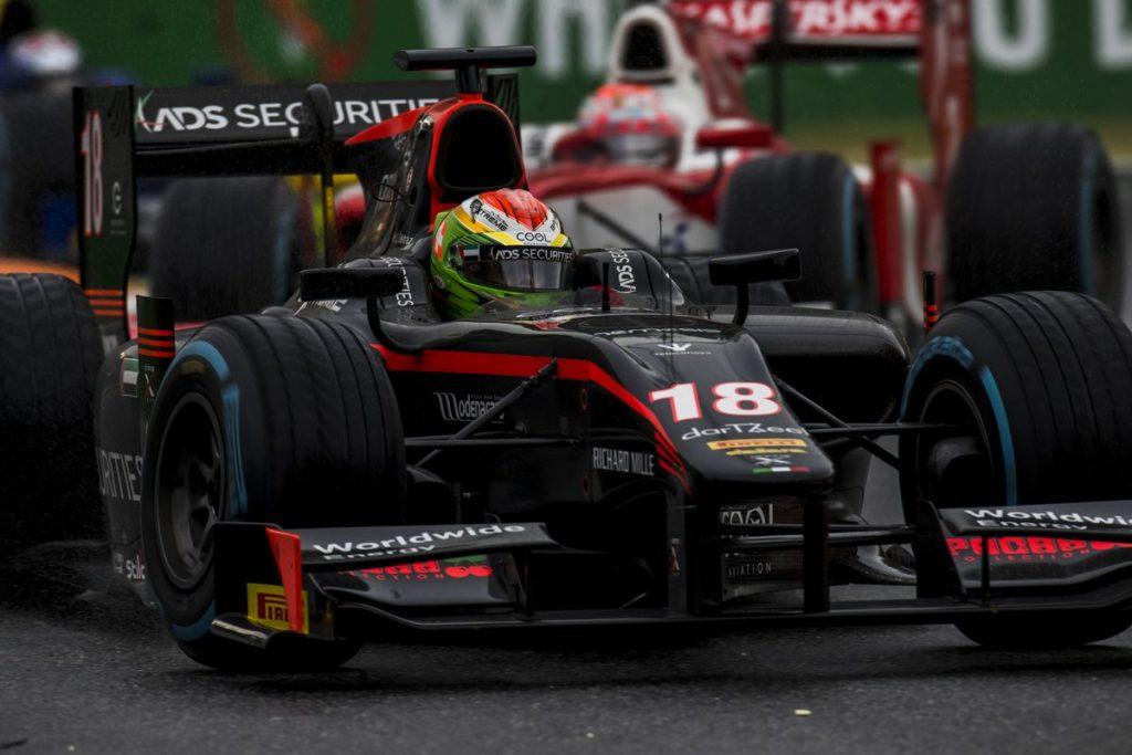 Formule 2 - Louis Delétraz au pied du podium